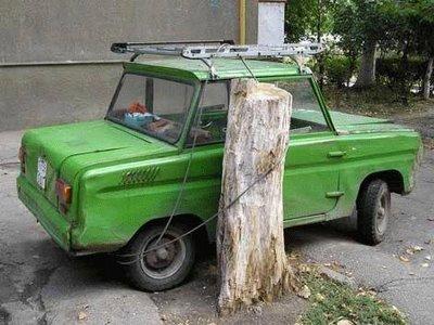 Tempat Parkir Mobil Paling Aman